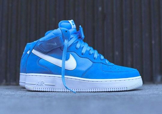 "Nike Air Force 1 Mid ""University Blue"""