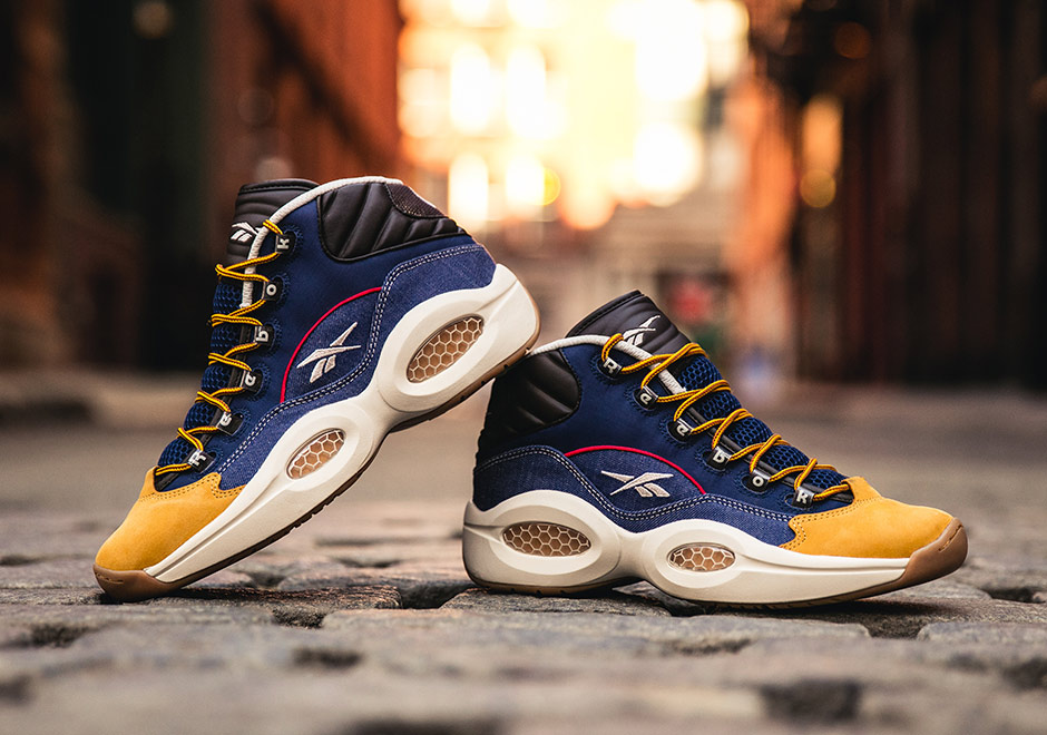 "Reebok Celebrates Allen Iverson's Iconic and Controversial Style With The ""Dress Code"" Question Mid"