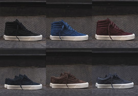 Six Tonal Colorways Of The Vans Vault SK8-Hi Lite and Old Skool Lite Are Available Now