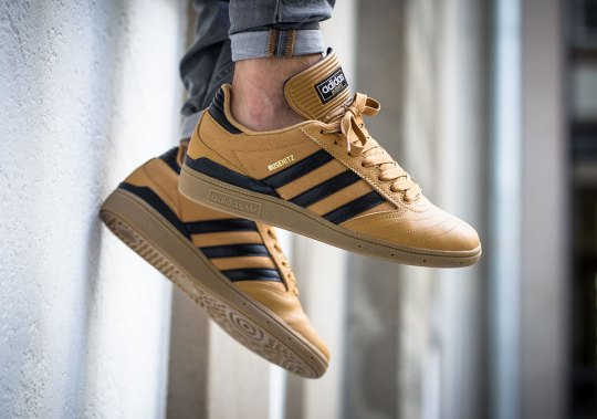 The adidas Busenitz Arrives In Wheat