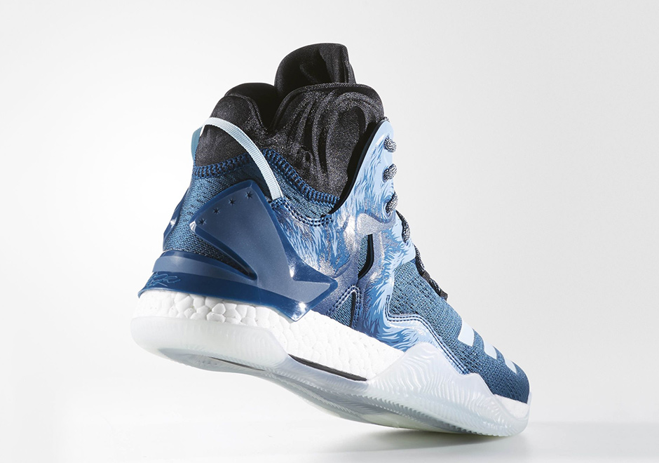 d890313cb852 ... uk adidas d rose 7 boost halloween. color tech steel ice blue core  black style