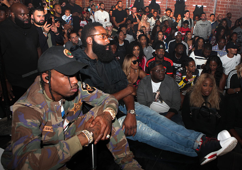 Travis Scott, Young Thug and More Help Debut the adidas Harden Vol. 1 in Houston