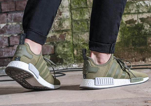 """b9ea21434b6 This adidas NMD """"Olive"""" Is Finally Available In The U.S."""