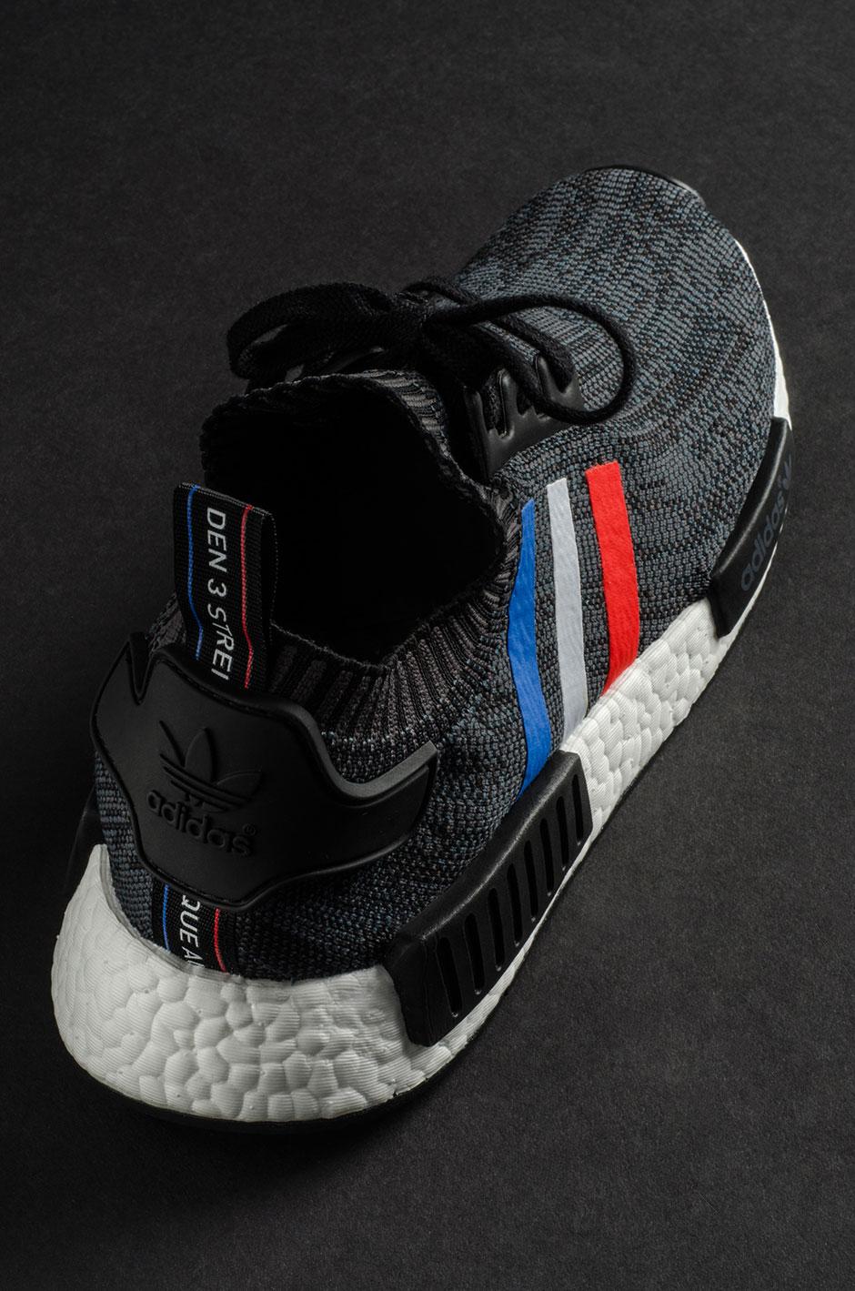 adidas nmd r1 primeknit black grey adidas yeezy 350 boost v2 in dark