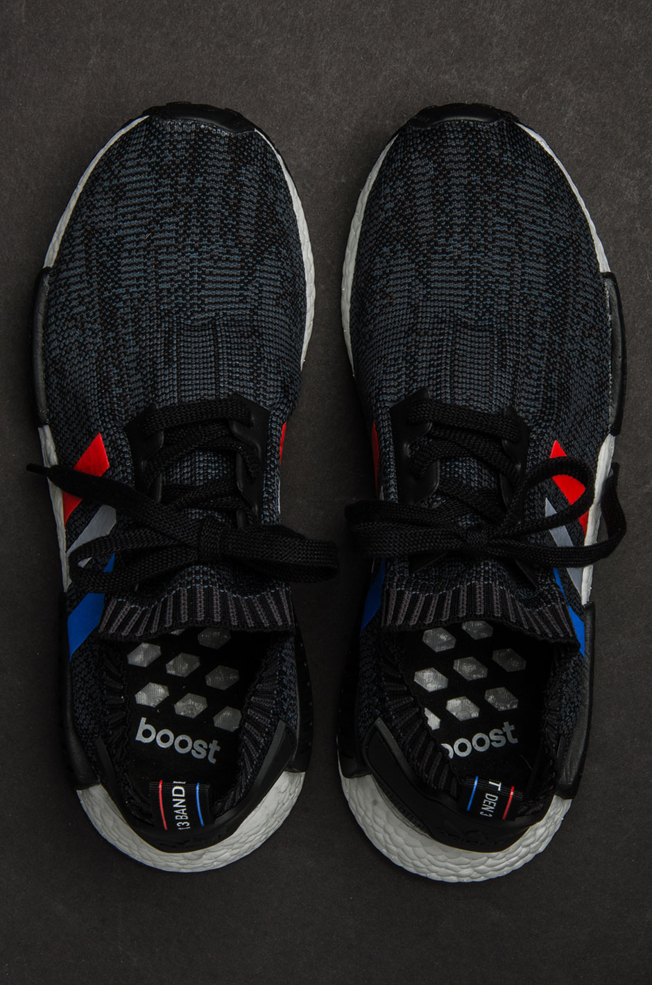 "65df09723 adidas NMD R1 Primeknit ""Tri-color"" Pack"