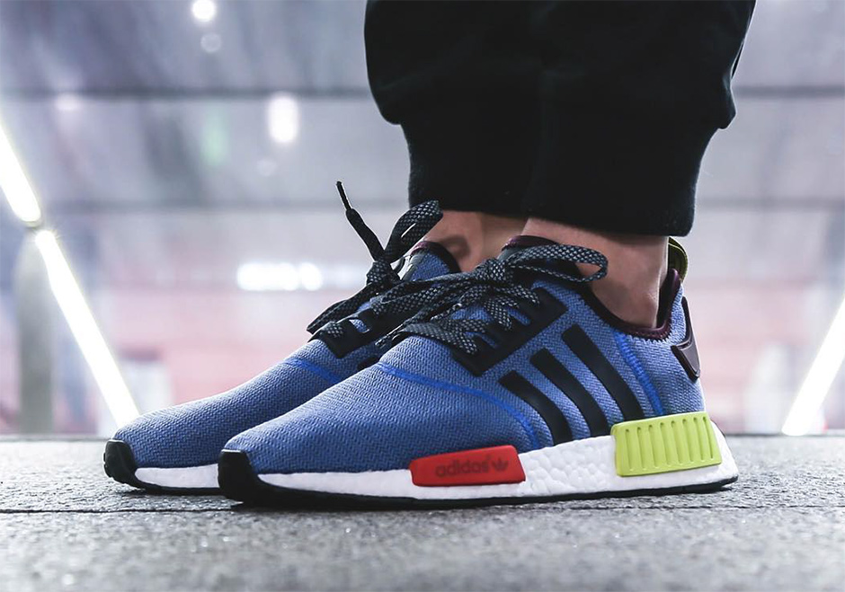 Classic Tones On The adidas NMD R1 KicksOnFire