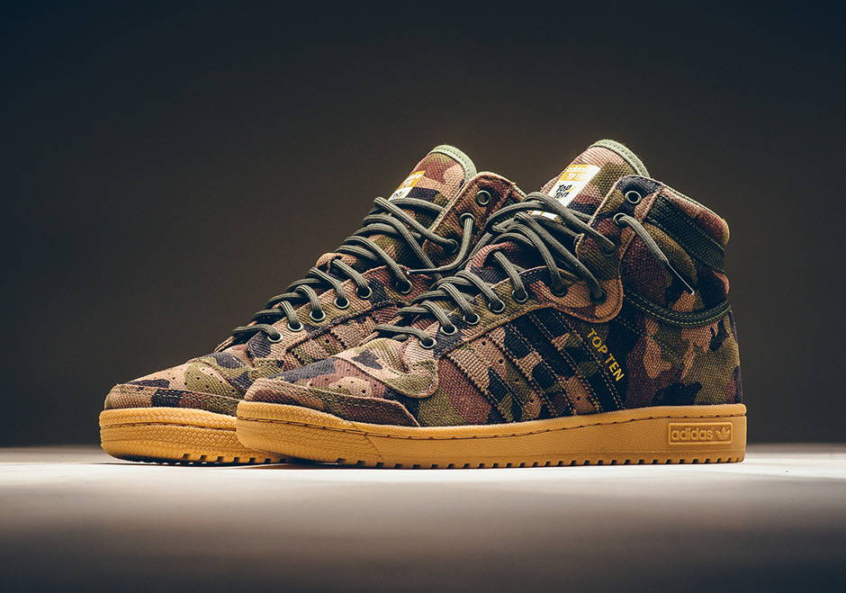 Hombre aves de corral Prestigioso  adidas Top Ten Hi Camo Available | SneakerNews.com