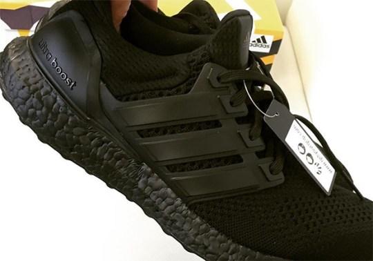 "Jon Wexler Provides A Sneak Peek Of The adidas Ultra Boost ""Triple Black"""