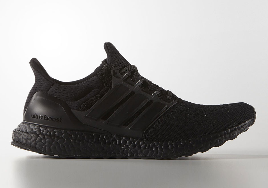 27b937ace3f0c adidas Ultra Boost Triple Black Releases Next Week