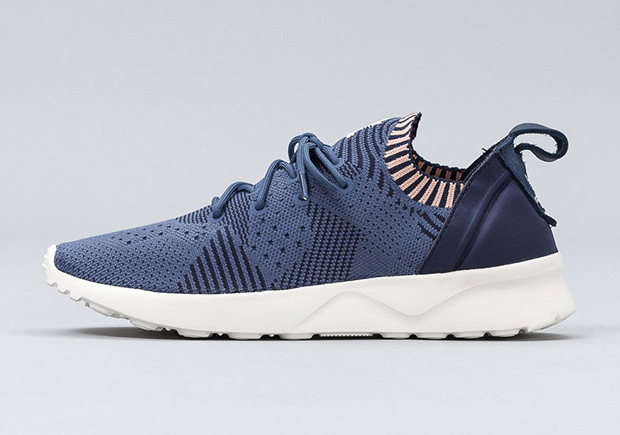 Adidas Zx Flux Primeknit Blue