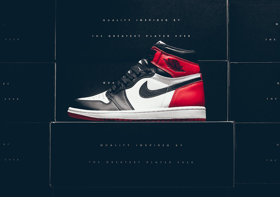 Air Jordan 1 Black Toe 2016 Release Info  5aef727119