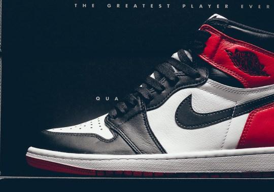 """Air Jordan 1 Retro High OG """"Black Toe"""" Releases This Weekend"""