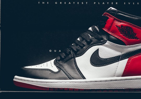 "Air Jordan 1 Retro High OG ""Black Toe"" Releases This Weekend"