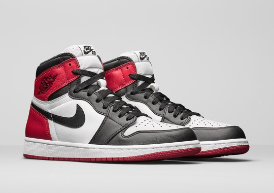 "Jordan Brand Unveils The Air Jordan 1 ""Black Toe"""