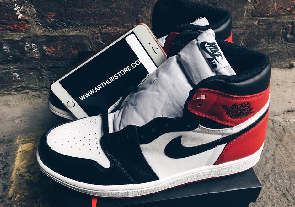 detailed look 90db6 5643c Air Jordan 1 Black Toe Release Date 555088-125 | SneakerNews.com