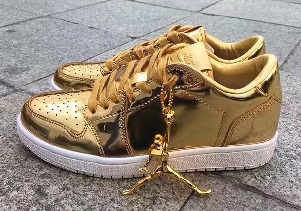 4c1c93e7323 Jordan 1 Low Pinnacle Gold | SneakerNews.com