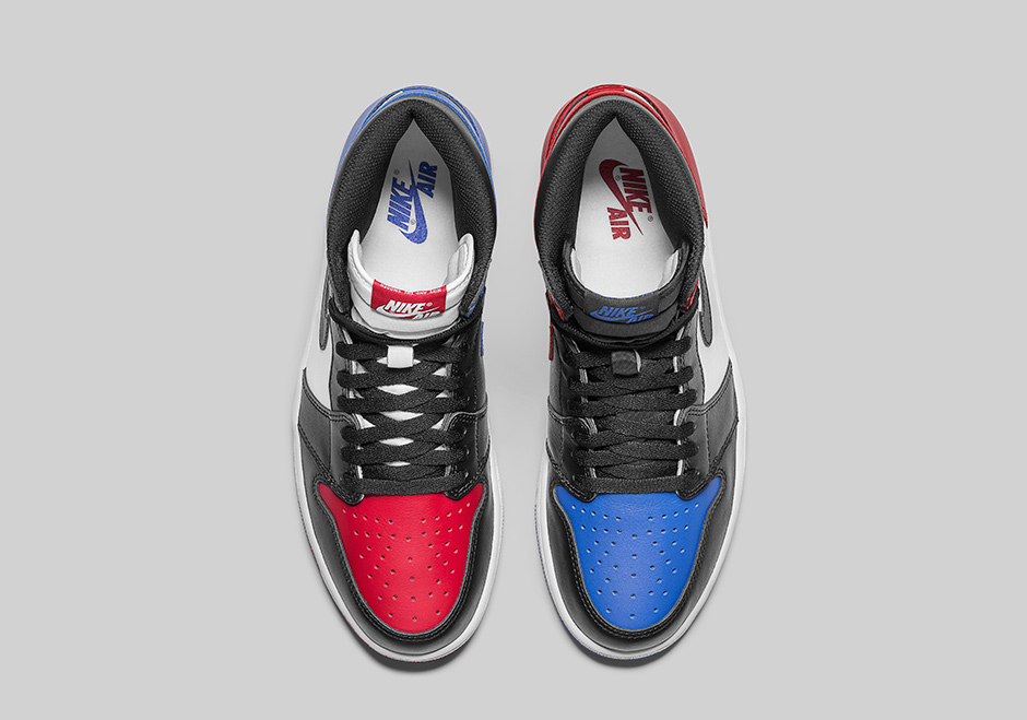 b1c82d30a45 Air Jordan 1 Top 3 Three Official Images