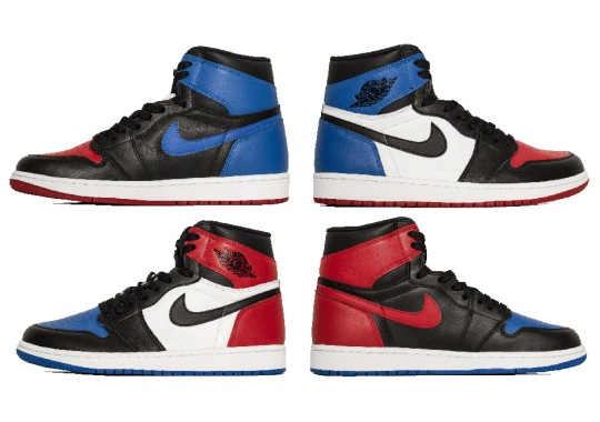 "Best Look Yet At The Air Jordan 1 ""Top Three"""