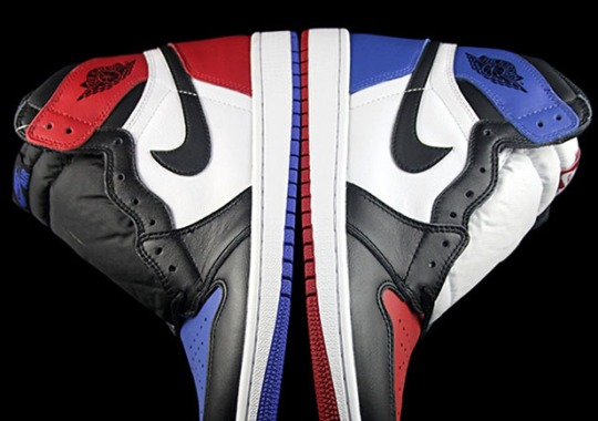 "Detailed Look At The Air Jordan 1 ""Top Three"""