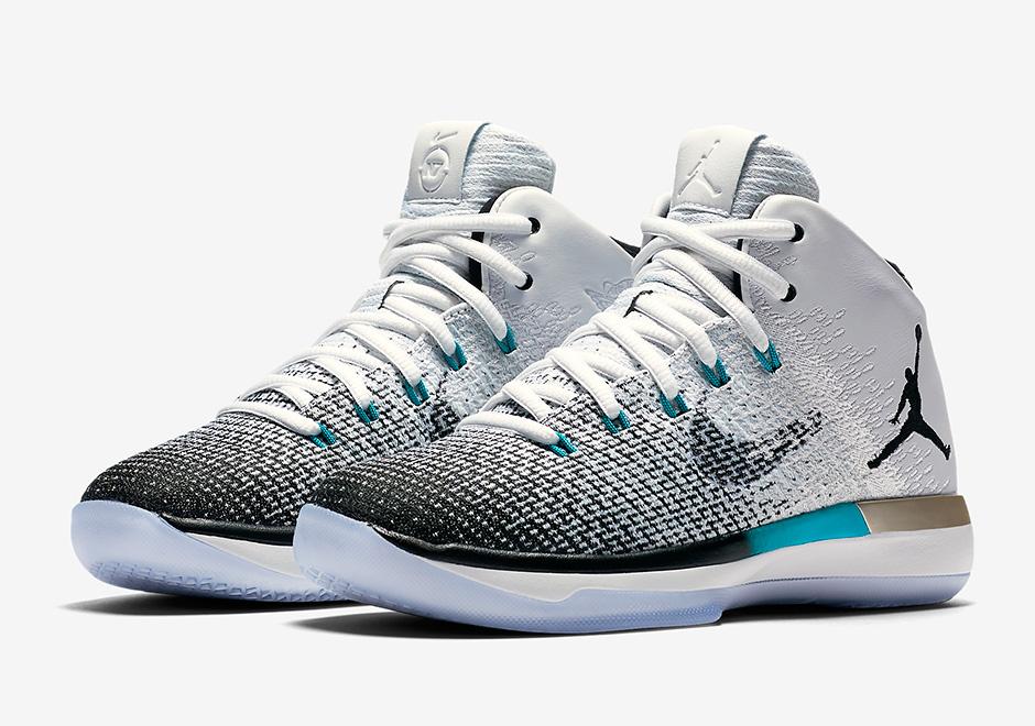 e35160fd5e2135 ... The Air Jordan 31 N7 Releases On November 7th Mens AJ31 Nike Air Jordan  XXXI 31 N7 White Purple Blue Metallic Gold Basketball Shoes ...