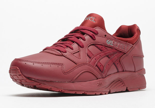 quality design bef89 4f16f ASICS GEL-Lyte V Burgundy Leather | SneakerNews.com