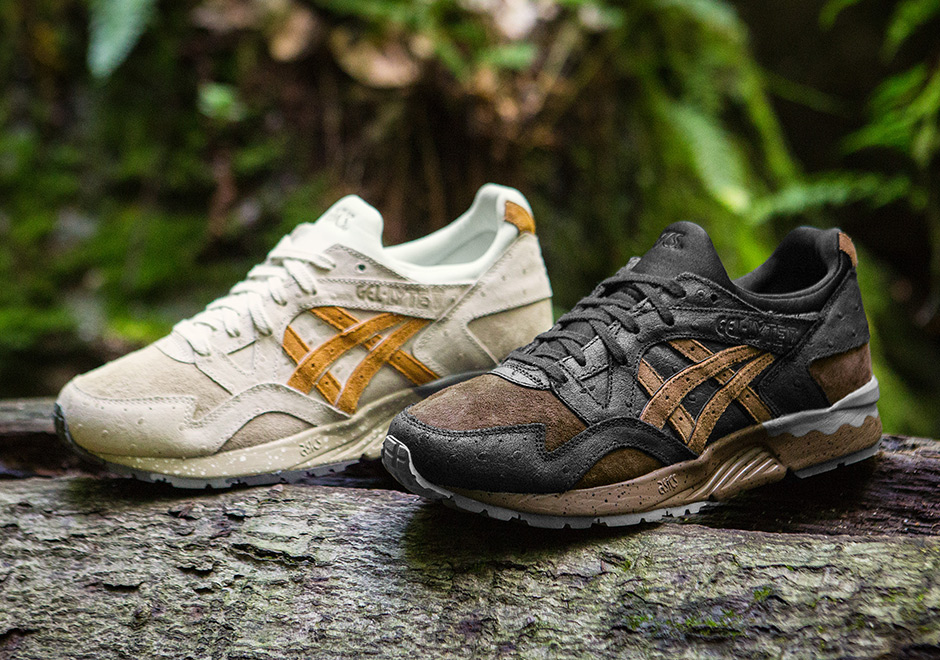"22cb7eaabd08 A delicacy of the kitchen inspires this new set of premium sneakers for the ASICS  GEL-Lyte V ""Tartufo"" pack. Elusive mushrooms known as the ""diamonds of the  ..."