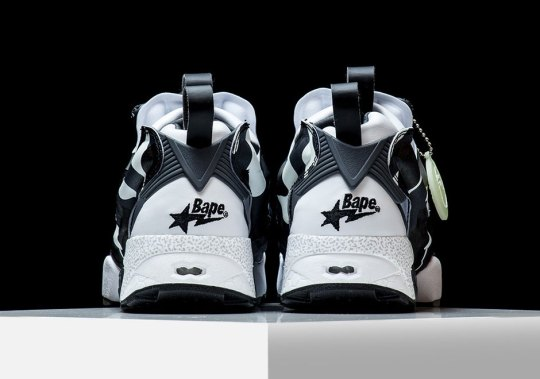 BAPE And Reebok Collaborate On Another Instapump Fury