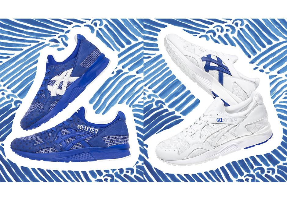 finest selection 6360d f47b3 colette ASICS GEL-Lyte V Yukata Blue White | SneakerNews.com