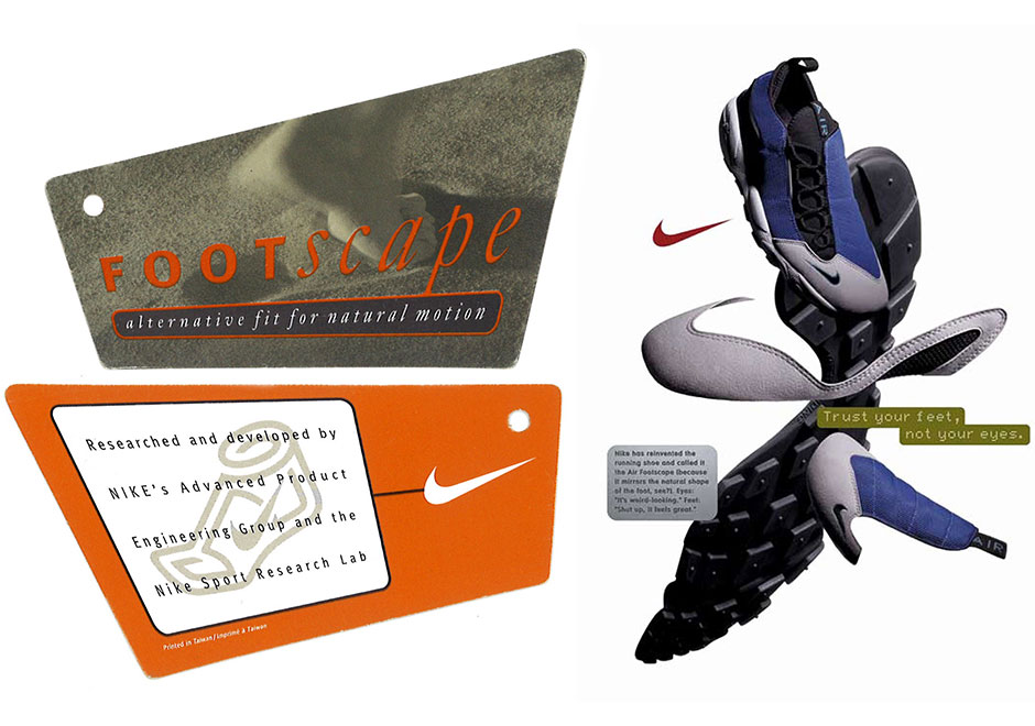 quite nice 2e06b 28263 History of the Nike Air Footscape   SneakerNews.com