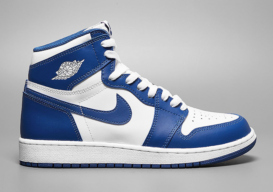 jordan shoes 1 23 - retro 1 hi og - white/blue 747168