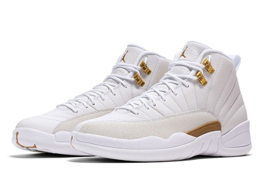The Air Jordan 12 OVO Is Releasing Again This Weekend