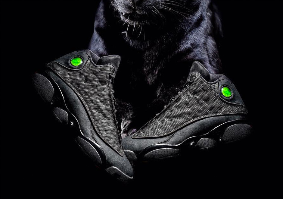 11d0891ad13 The Air Jordan 13 Was Actually Inspired By A Black Cat