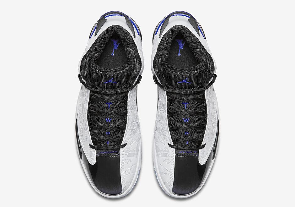 """8f22b85ba5f Jordan Dub Zero """"Concord"""". Color  White Black-Concord Purple Style Code   311046-106. Release Date  December 1"""
