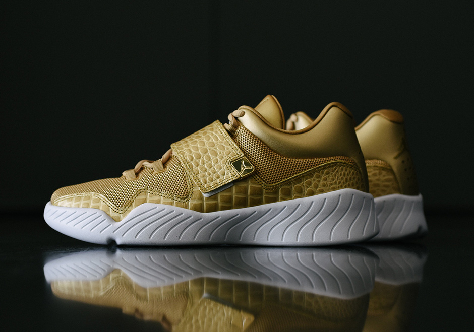 8249479a4be Jordan J23 Trainer Metallic Gold Available Now | SneakerNews.com