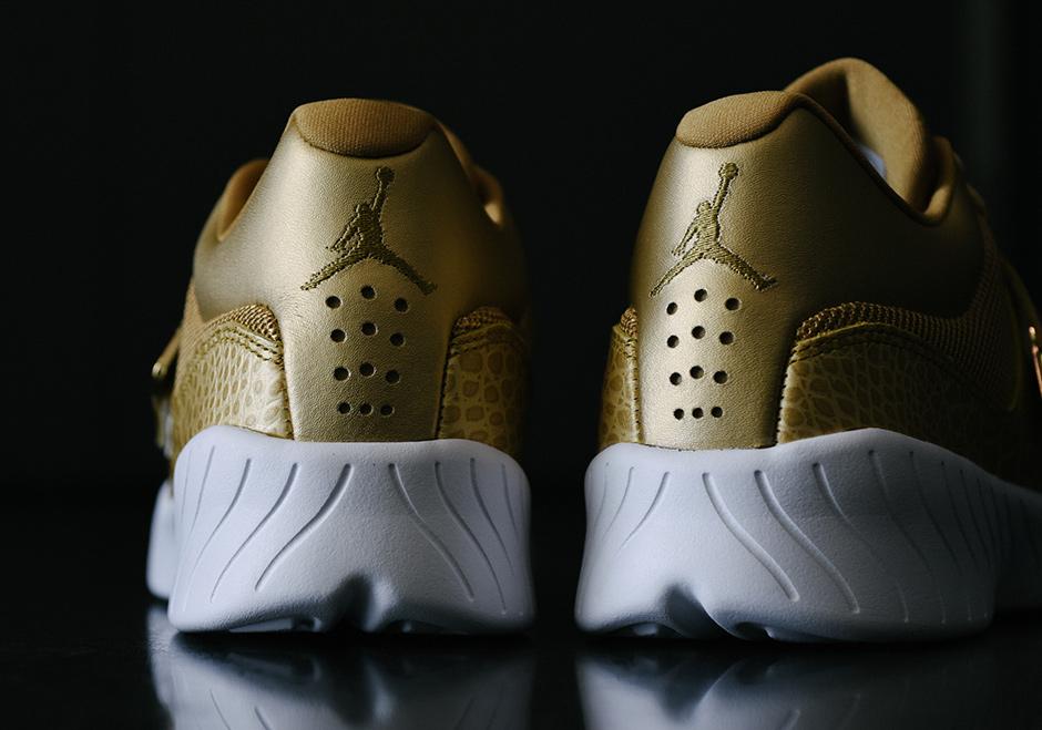 e209026d4edc4b Jordan J23 Trainer Metallic Gold Available Now