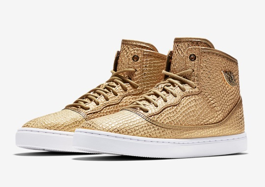 The Jordan Shoe Inspired By MJ's Daughter Goes Metallic Gold