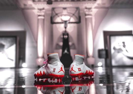 """Jordan And Neymar Release A """"Fire Red"""" Set Of Footwear"""