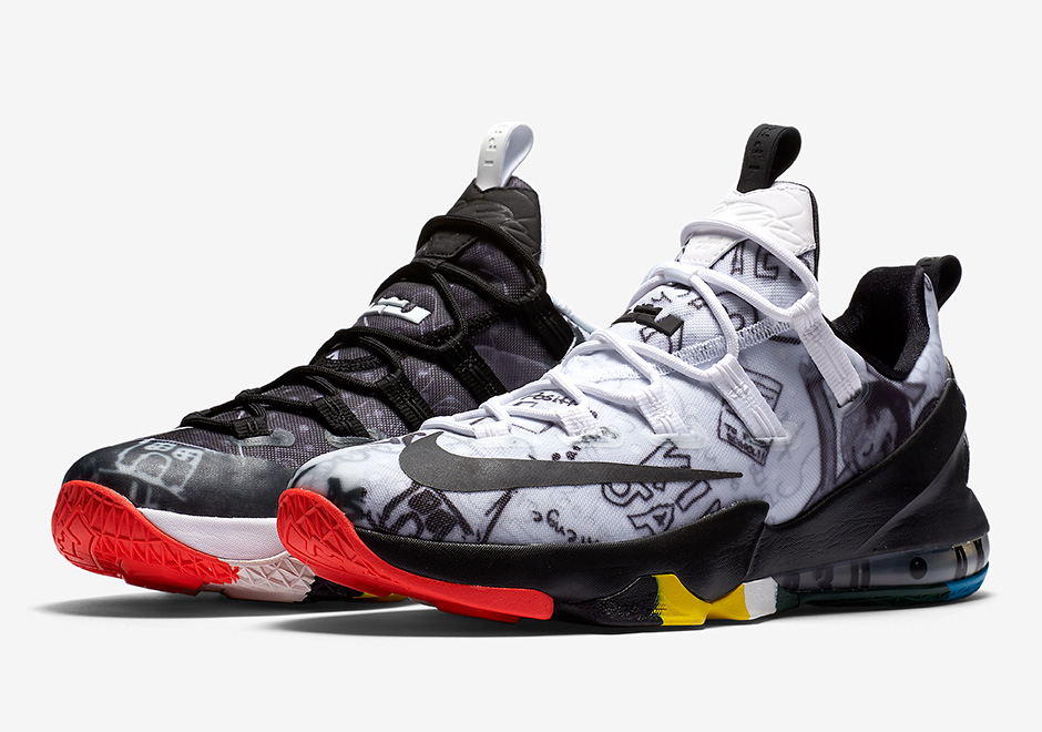 "88a7835b092 Nike LeBron 13 Low ""LeBron James Foundation"" Releases Next Friday"