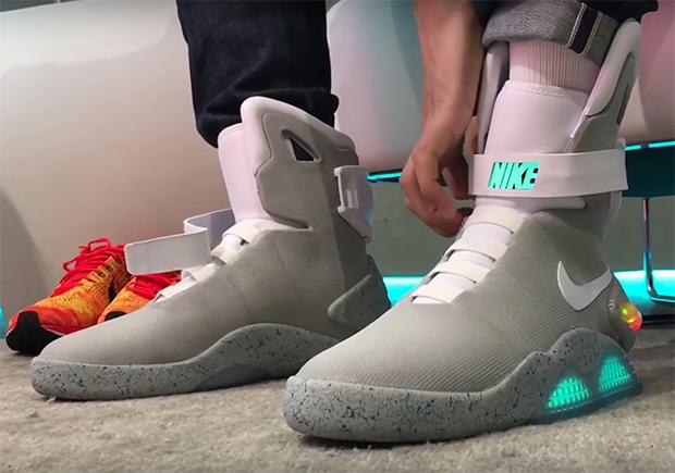 Nike Self Lacing Shoes  Usd
