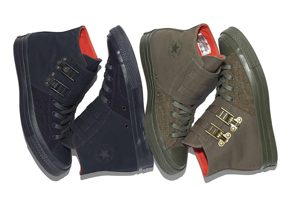 3036ebe68404 ... Converse teams up with British designer Nigel Cabourn for a  workwear-inspired interpretation of the ...