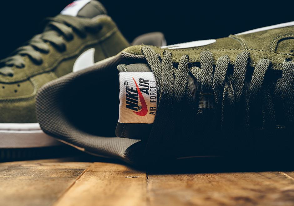 best sneakers ebe66 5446d order nike air force 1 low cargo khaki suede sneakernews 69620 3af4d