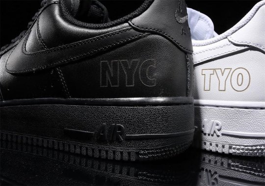 """Nike Made Limited """"NYC"""" and """"TOKYO"""" Air Force 1s For atmoscon"""