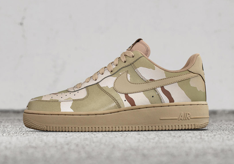 the latest cf88b 802ff Nike Air Force 1 Low Camo Reflective Pack   SneakerNews.com