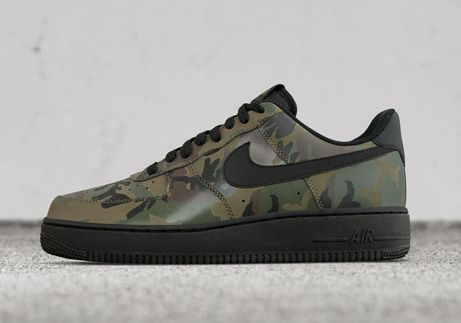 Camo Print Air Force Ones