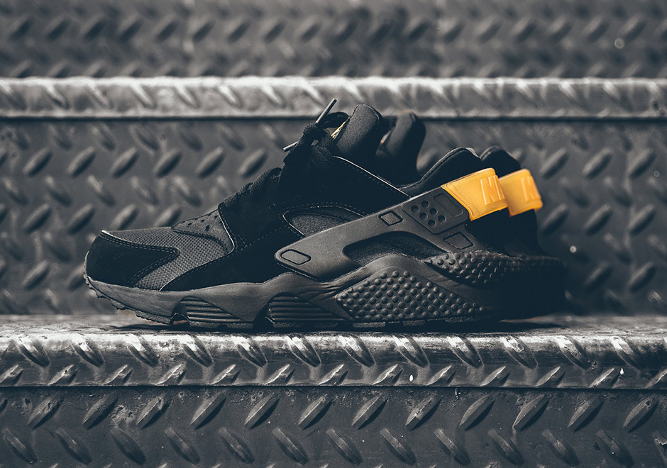 Nike Huarache D'air Or Métallique Noir hwIxDEe