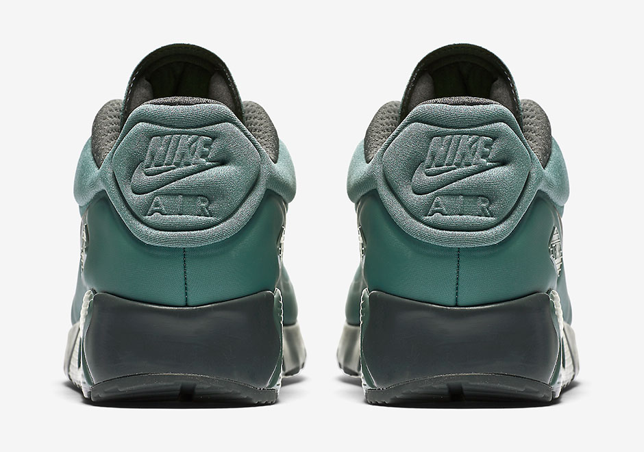 quality design b4d53 a03a1 Nike Air Max 90 Ultra SE Hasta Green 845039-301   SneakerNews.com
