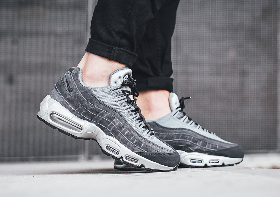 info for 1f43b 6507d Nike Air Max 95 Wolf Grey Suede 538416-002 | SneakerNews.com