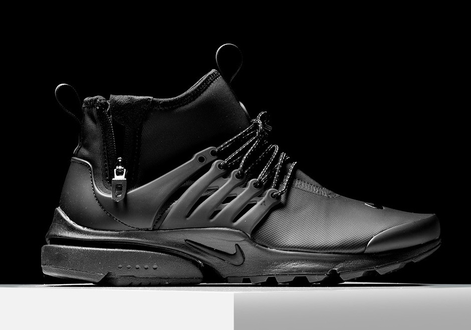 7c32ac12c4e hot sale 2017 Nike Air Presto Mid Utility Triple Black 859524-003 ...