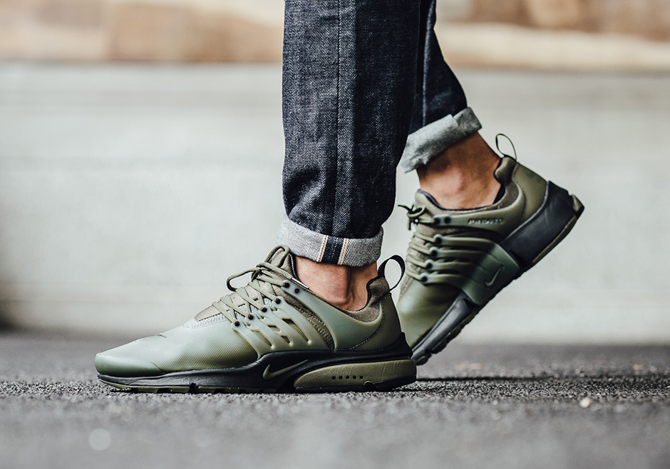 new styles 6d947 41d09 Nike Presto Utility Low Cargo Khaki 862749-300  SneakerNews.