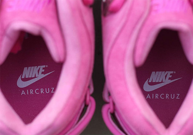 "6cc0d2514448 Victor Cruz and Sneaker Room Reveal Nike Air Cruz ""Think Pink"""